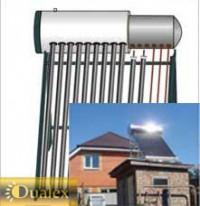 Вакуумний сонячний колектор для опалення будинку ціна